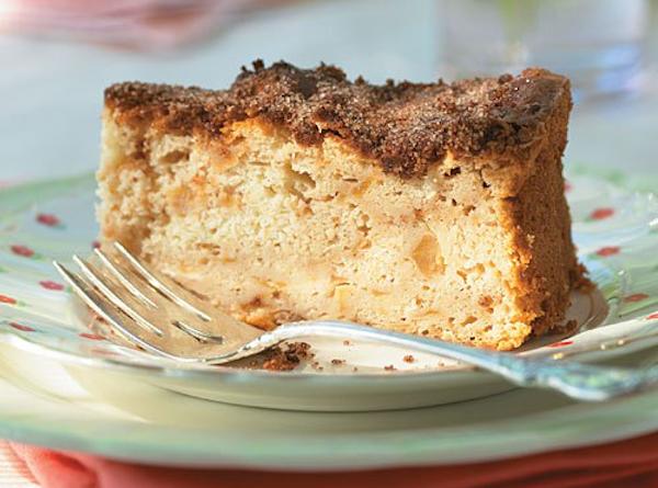 Gâteau aux Pommes et à la Cannelle Allégé