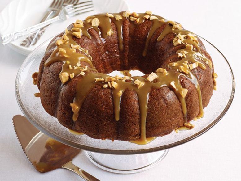 Gâteau aux Pommes et Caramel à L'érable