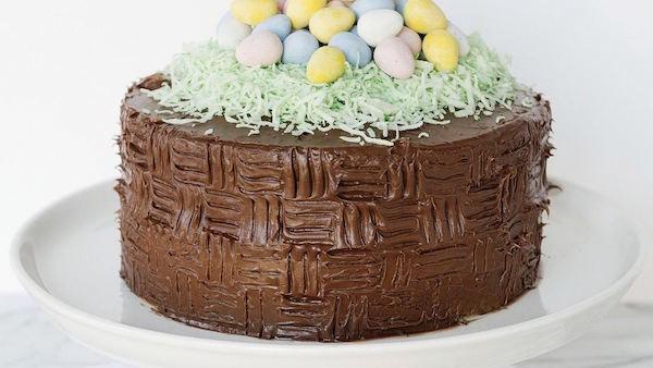 Gâteau Corbeille de Pâques