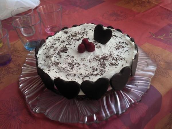 Photo Recette Gâteau Double Chocolat Framboises, Sans Gluten