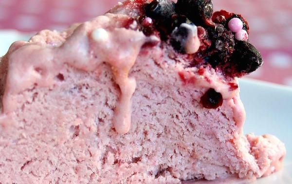 Photo Recette Gâteau Glacé aux Fruits Rouges