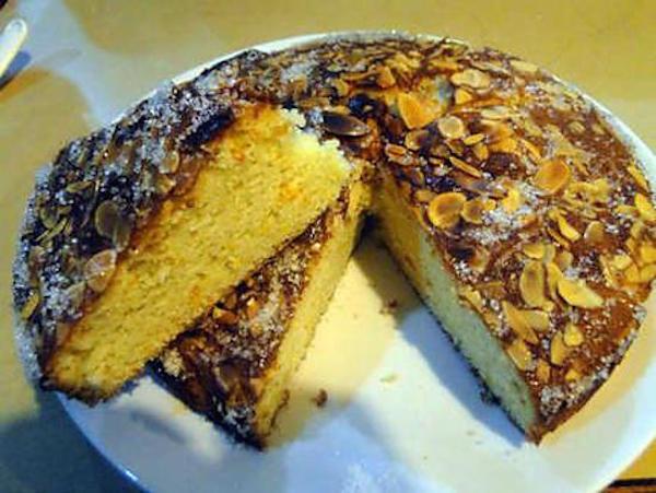 Gâteau Mexicain Orange-Amandes