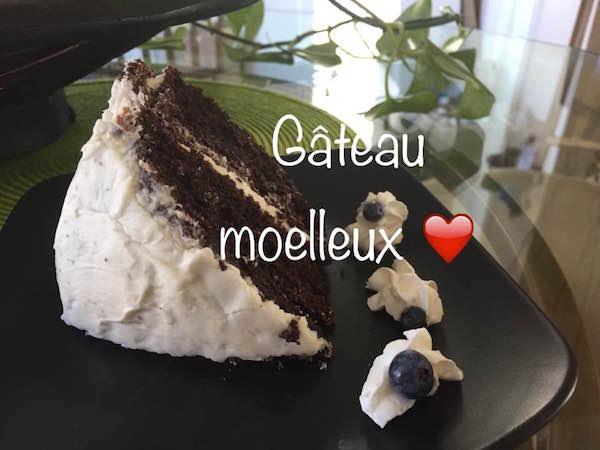 Photo Recette Gâteau Moelleux au Chocolat