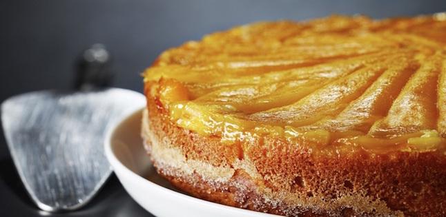 Gâteau Renversé à la Mangue