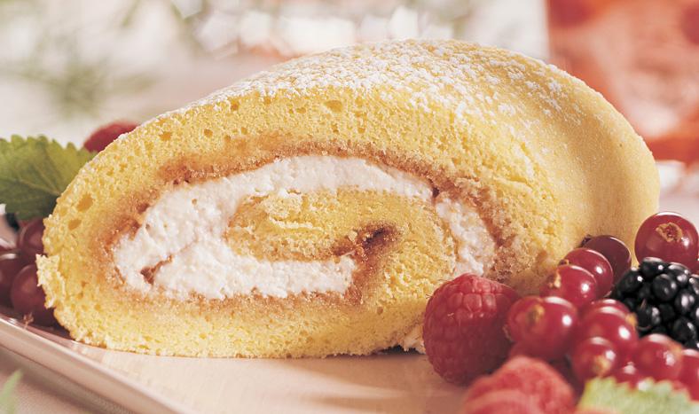 Gâteau Roulé à la Ricotta