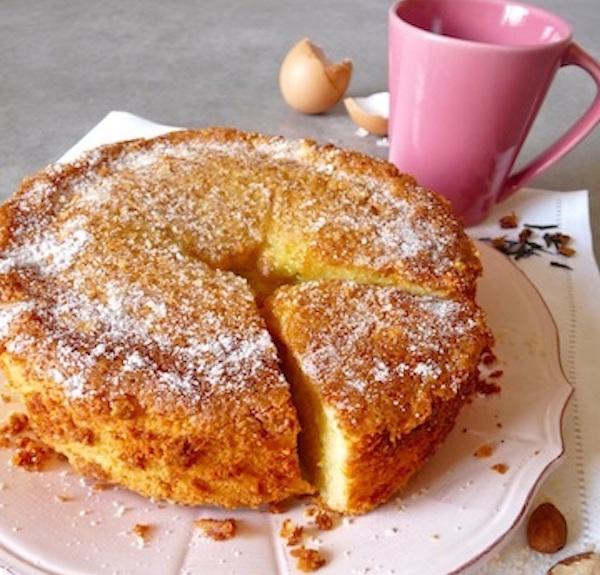 Gâteau Sans Gluten Citron-Amande au Coeur Fondant