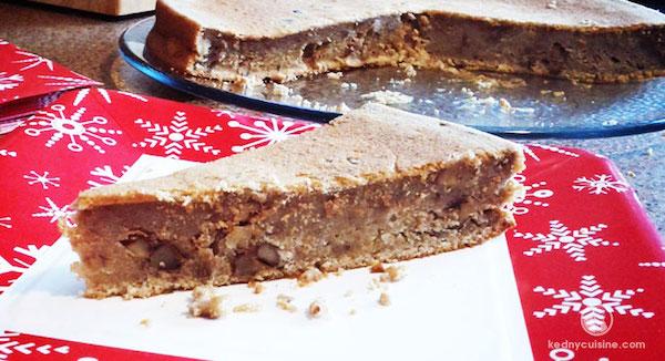 Gâteau Pudding aux Bananes Noix et Érable