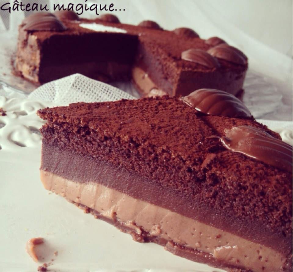 Gâteaux Magique tout Chocolat
