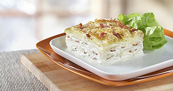 Photo Recette Gratin de Pommes de Terre au Fromage Suisse et au Bacon