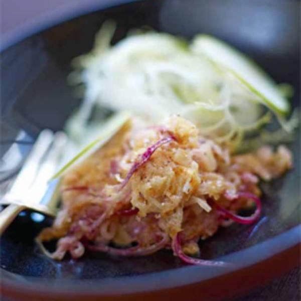 Photo Recette Gratinée D'oignons Doux à la Moutarde