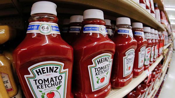 Guerre ketchup Heinz