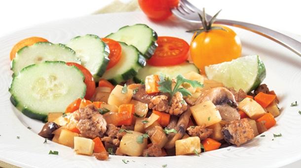 Hachis de Veau et de Légumes-racines