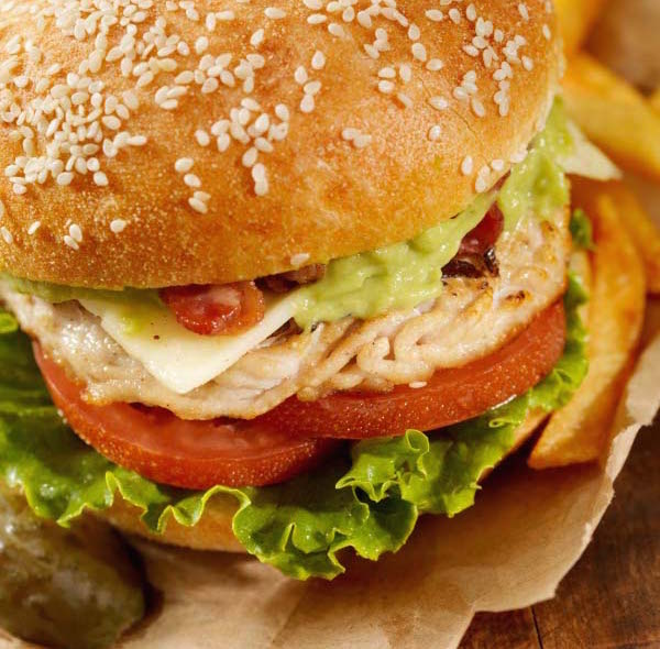 Hamburgers à la Dinde et au Fromage Classique Bergeron (style californien)