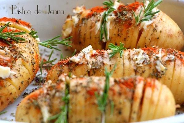 Photo Recette Hasselback Potatoes de Provence