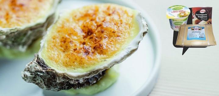Photo Recette Huîtres Gratinées au Parmesan