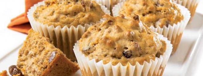 Muffin au Son et aux Carottes
