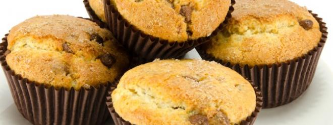 Muffins Choco-Bananes