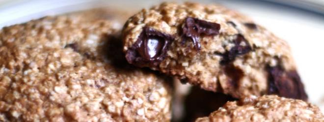 Photo Recette Galettes à l'avoine et aux Pépites de Chocolat