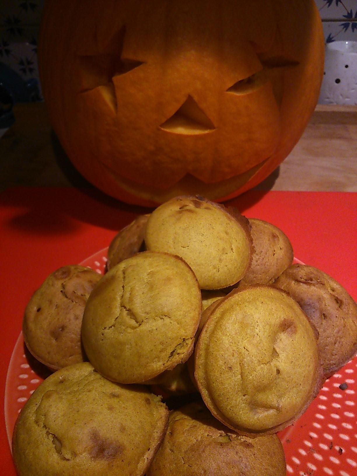 Muffins à la Citrouille et aux Épices