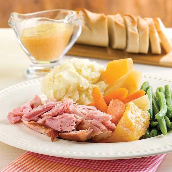 Jambon à L'érable Ananas et Légumes