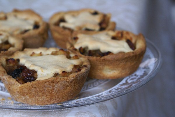 Jolies Mince Pies Pommes, Cannelle & Gingembre {sans gluten, vegan}