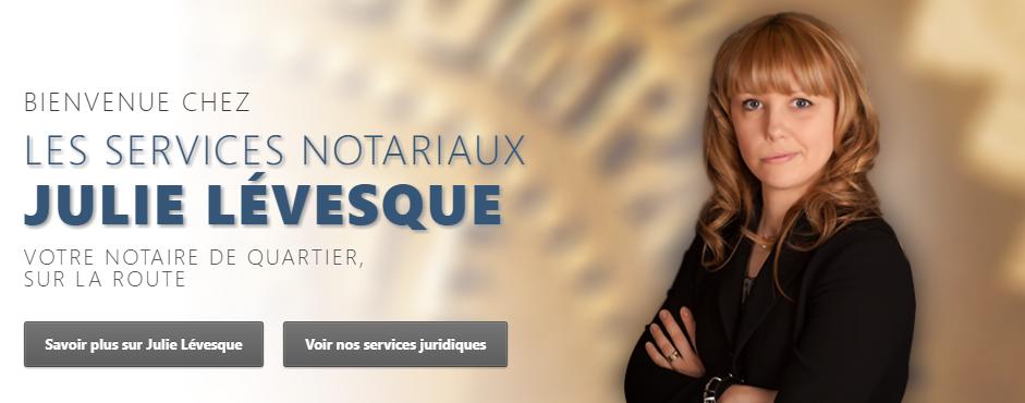 Julie Lévesque Notaire en Ligne