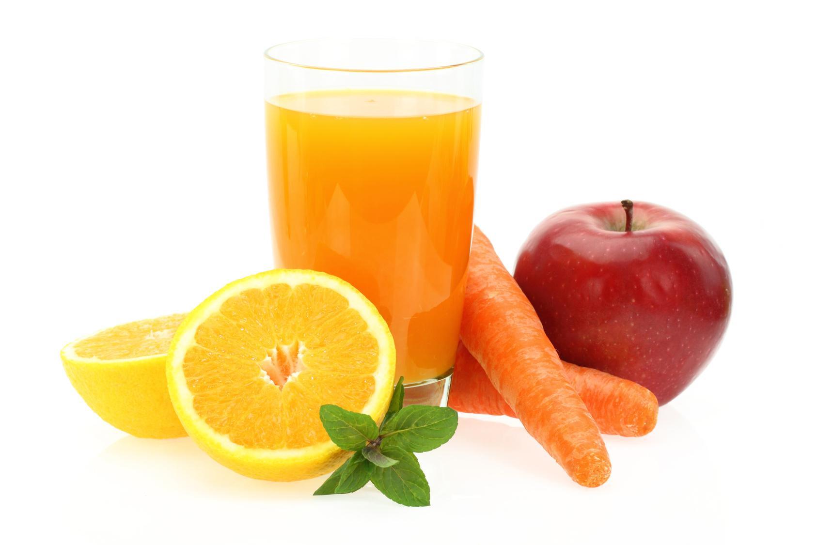 Jus de Fruits et Légumes pour une Peau sans Acné
