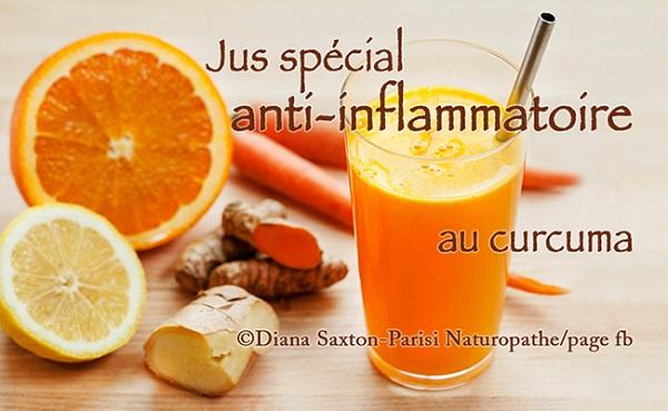 Jus Spécial Anti-Inflammatoire au Curcuma
