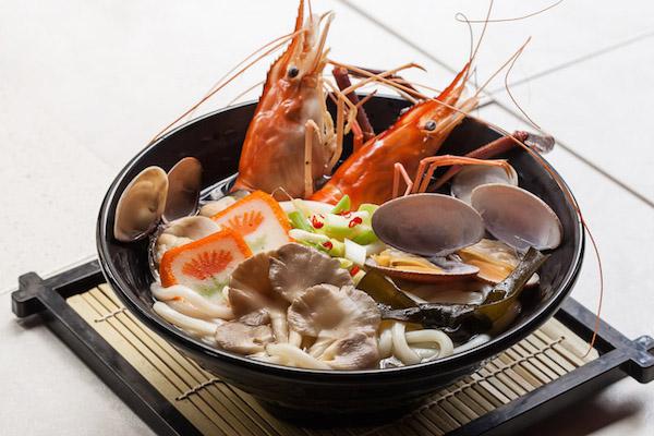 Kaisen udon, Soupe de Nouilles aux Fruits de Mer