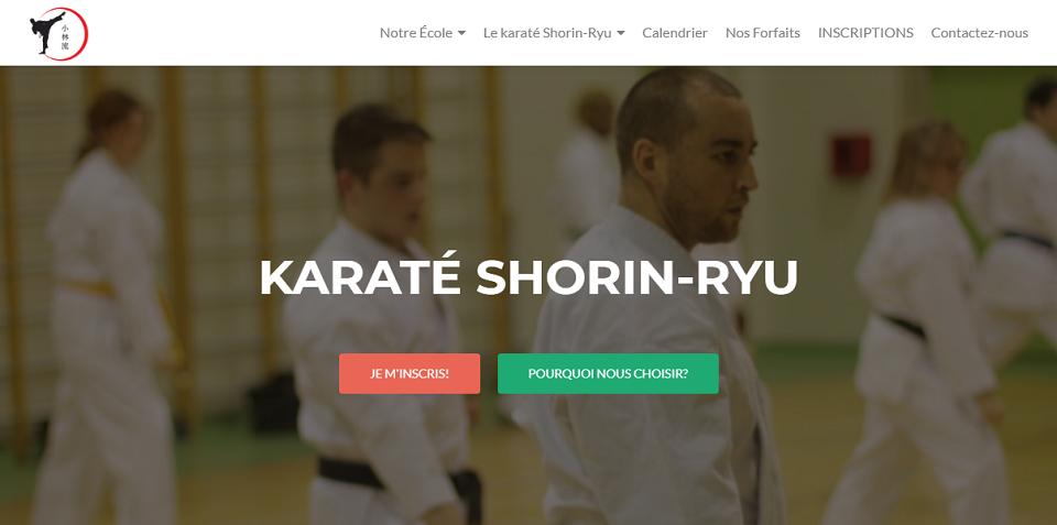 Karaté Shorin-Ryu en Ligne