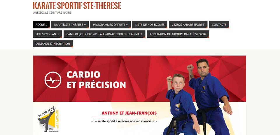 Karaté Sportif Ste-Therese en Ligne