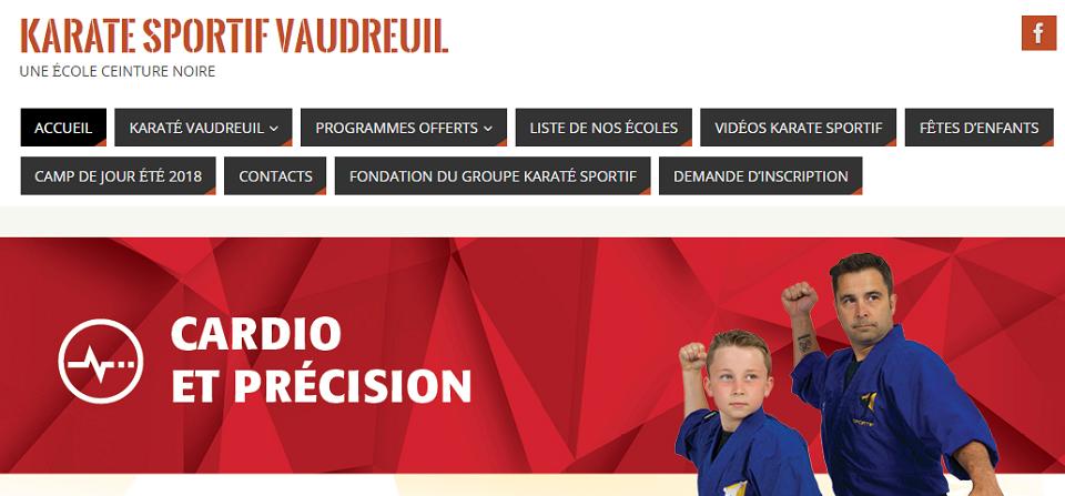 Karaté Sportif Vaudreuil en Ligne