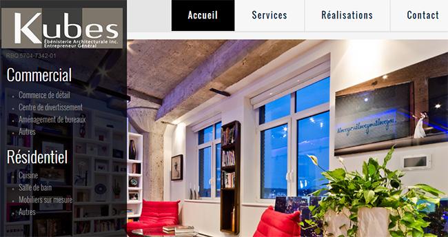Kubes Ébénisterie Architecturale