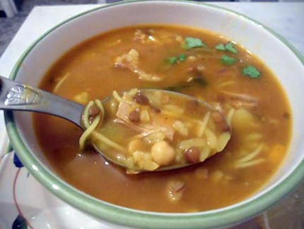 LA HARIRA(soupe orientale)