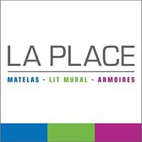 Logo LA PLACE   Matelas - Lit Mural - Armoires