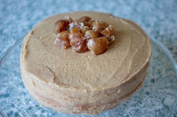 Gâteau Sans Gluten Châtaigne et Marron Glacé