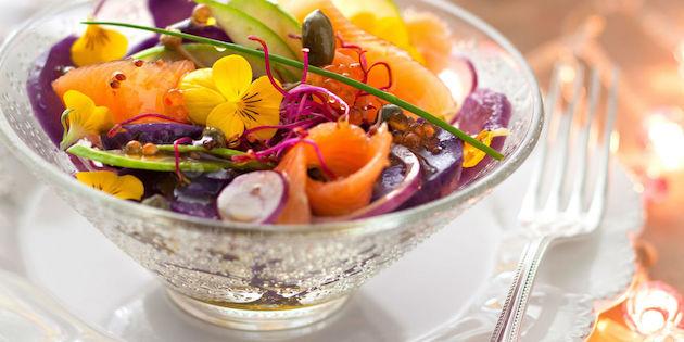 Photo Recette La Salade de Pommes de Terre Vitelottes d'Anne Alassane