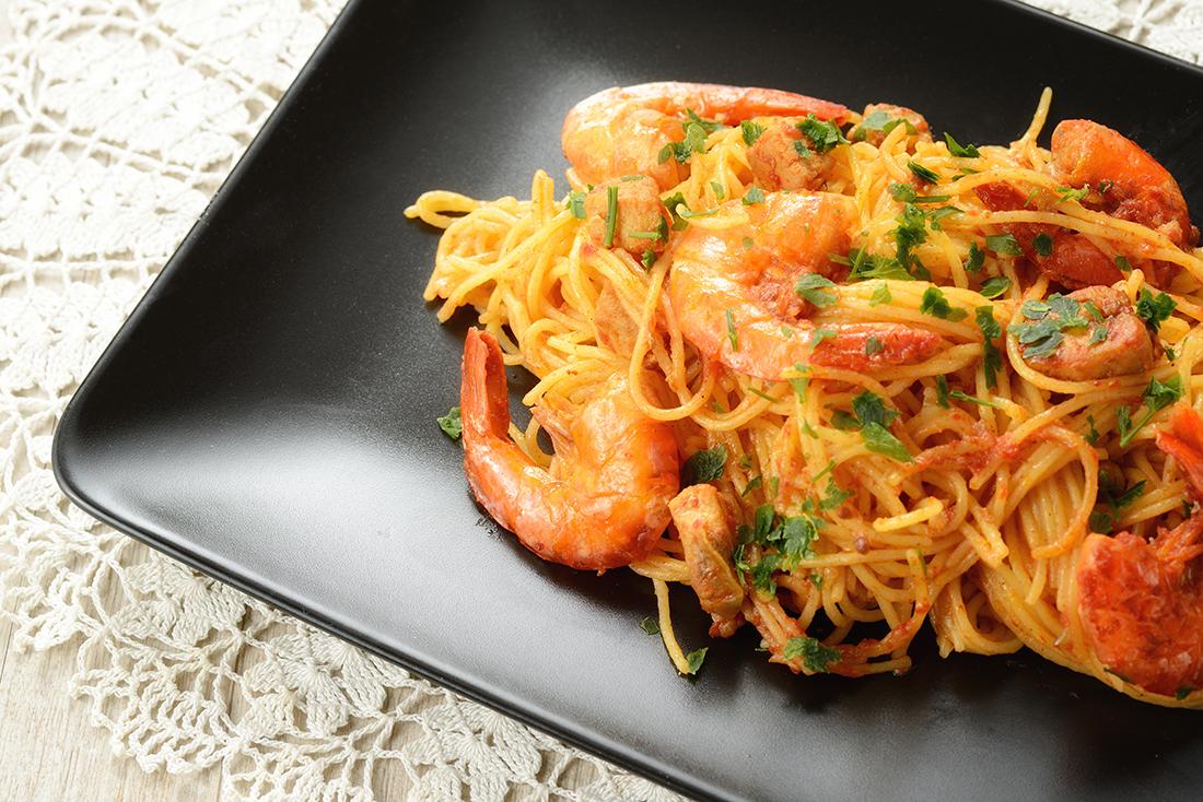 La Sauce All Ragu de Gamberetti (ragout de crevettes)