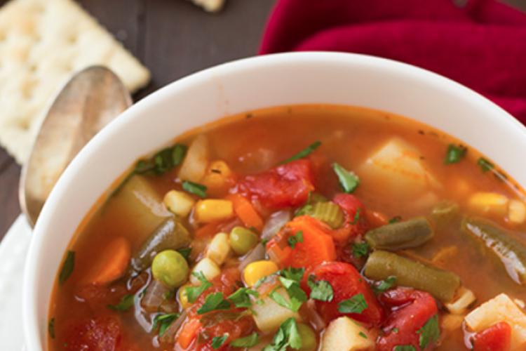La Soupe aux Légumes si Réconfortante!