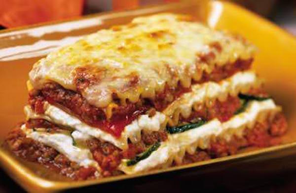 Lasagne au Porc Haché
