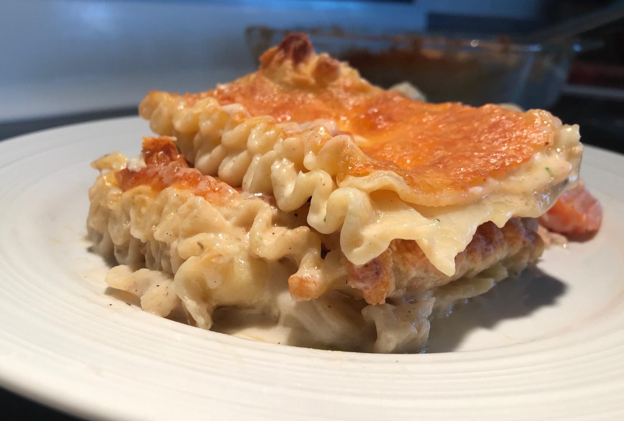 Photo Recette Lasagne au Saumon