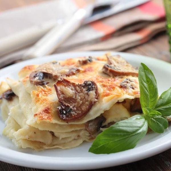 Photo Recette Lasagne aux Champignons