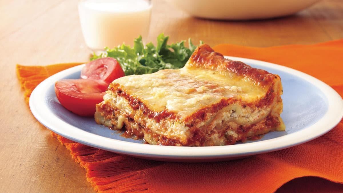 lasagne sans fromage