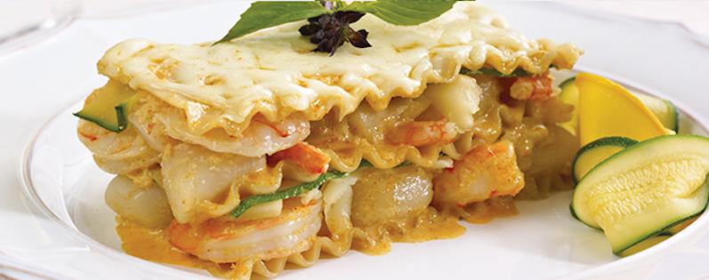 Lasagne Thaï aux Fruits de Mer
