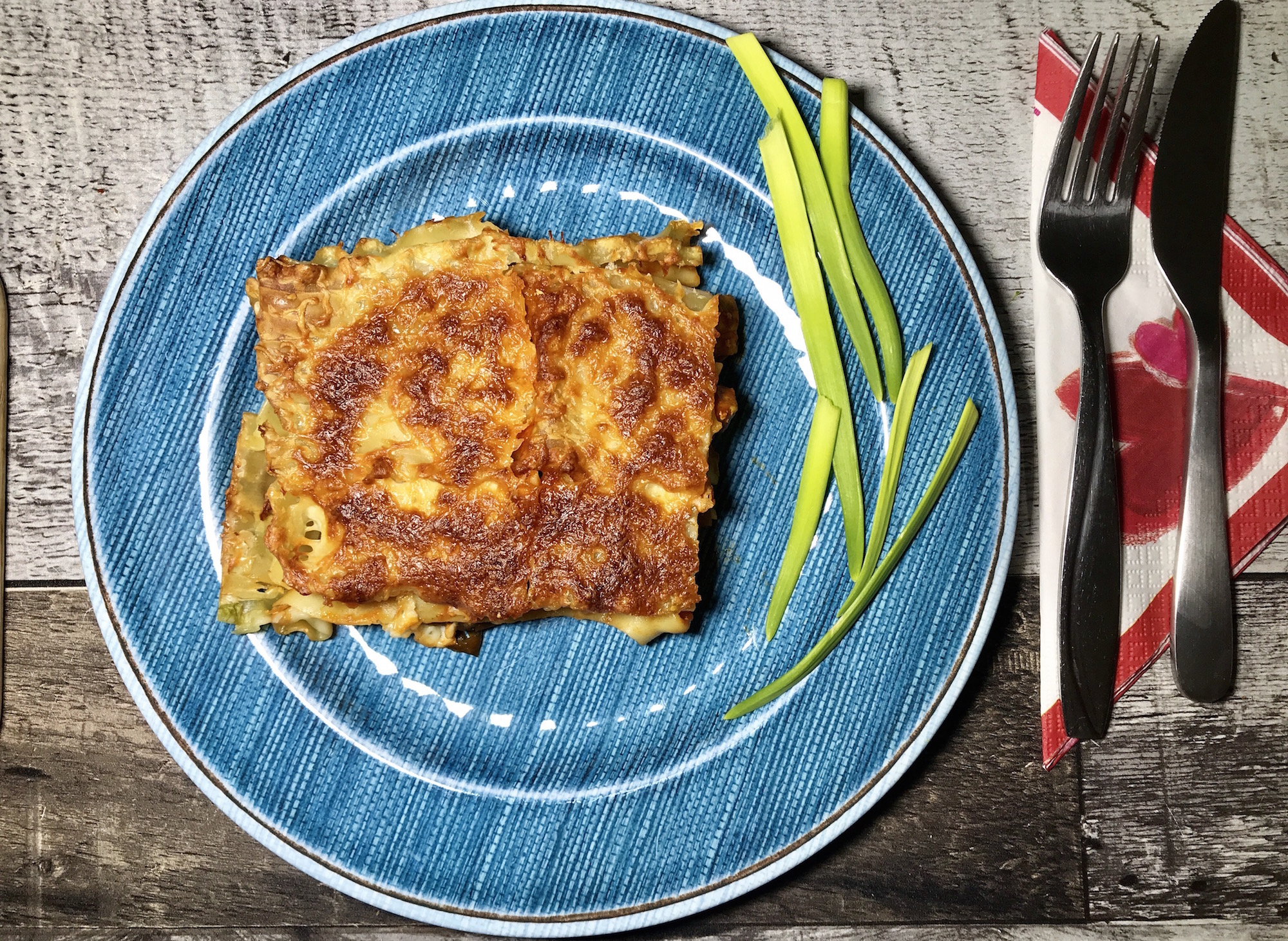 Lasagne Végé à L'aubergine