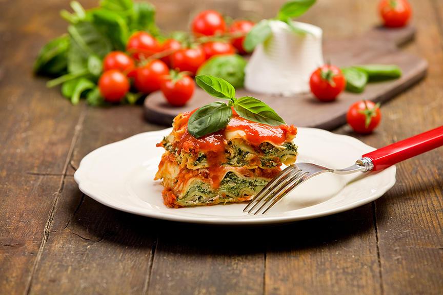 Lasagne Végétarienne à la Mijoteuses