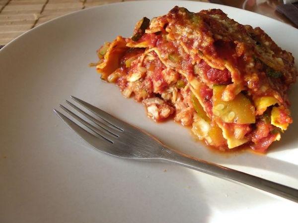 Photo Recette Lasagnes à la Méditérranéenne