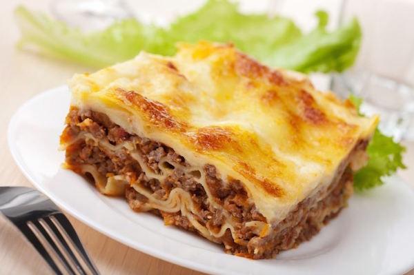 Lasagnes au Viande Hachée et Jambon