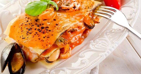 Lasagnes aux Fruits de Mer Rapides