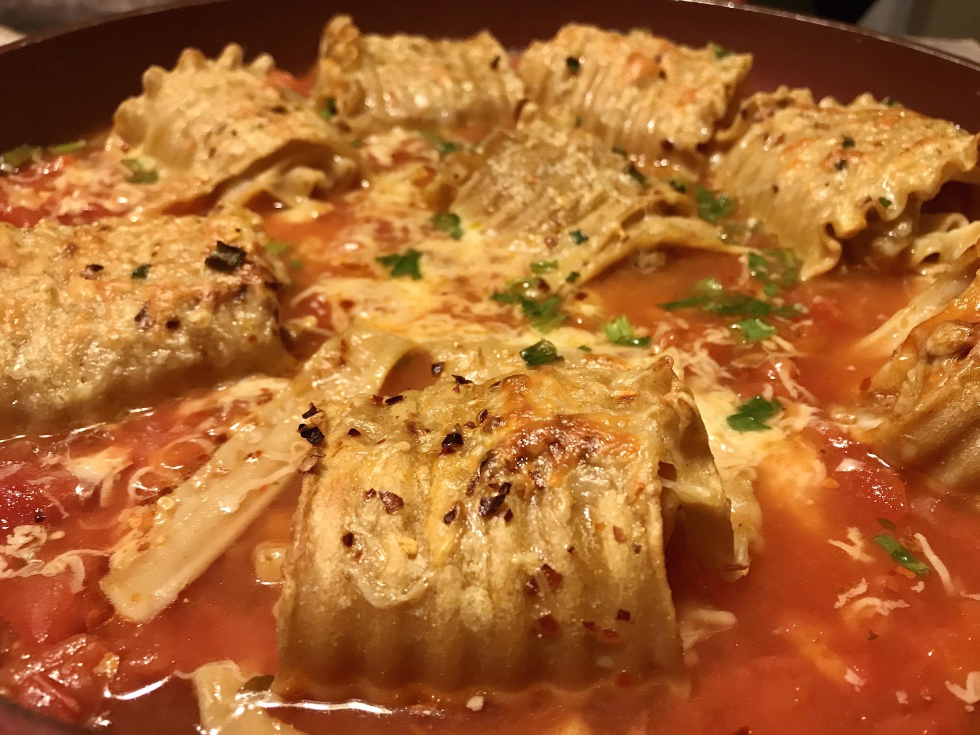 Photo Recette Lasagnes Farcies avec Lanières de Boeuf, Fromage et Sauce Tomates